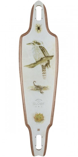 Globe Prowler Longboard Deck - Dark Maple/Outback