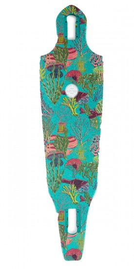 Globe The Cutler Longboard Deck - Tide Pool