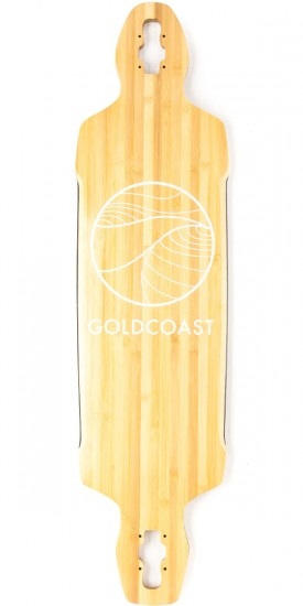 Gold Coast Classic Bamboo Drop Through Longboard Deck