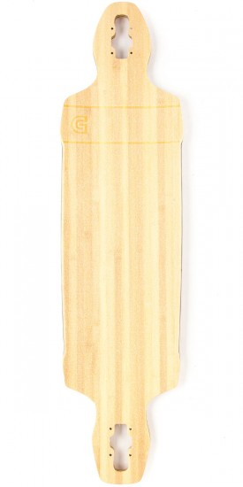 Gold Coast Classic Bamboo Drop Through Longboard Complete