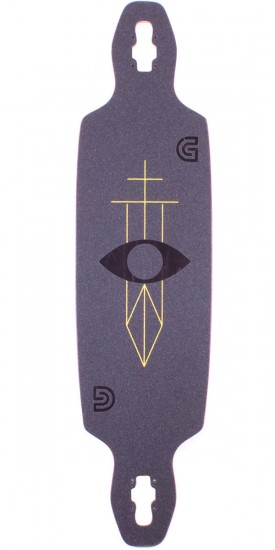 Gold Coast Serpentagram Longboard Skateboard Deck
