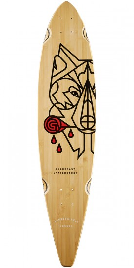 "Goldcoast Aesop 40"" Pintail Longboard Deck"