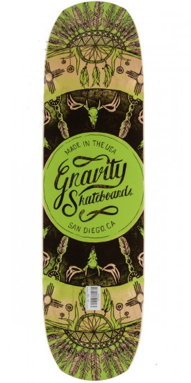 "Gravity 34"" Pool The Rook Longboard Deck - Green"