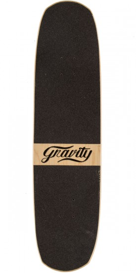 "Gravity 34"" Pool The Rook Longboard Deck - Red"