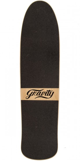 "Gravity 35"" Pool Slime Longboard Deck - Blue"