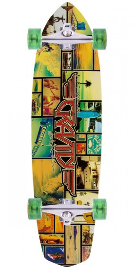 "Gravity 36"" Moonlight Classic Cruiser Longboard Complete"