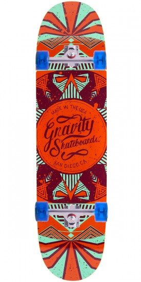 "Gravity 36"" Pool Longboard Complete - Orange"