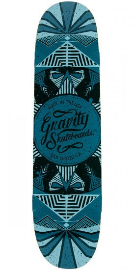 "Gravity 36"" Pool Longboard Deck - Blue"