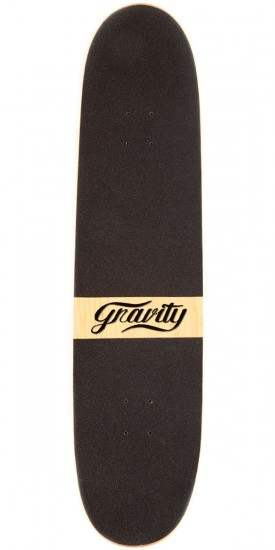 "Gravity 36"" Pool Longboard Deck - Orange"
