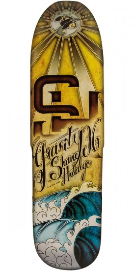 "Gravity 36"" Shane Hidalgo Always Love Longboard Deck"