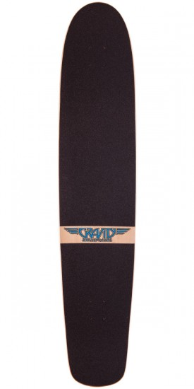 "Gravity 45"" Spoon Nose Twin Palms Longboard Deck"
