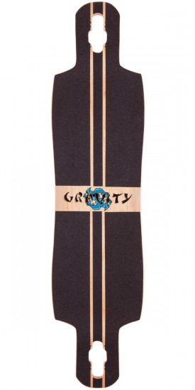 "Gravity Boards 41"" Chi Longboard Deck - Blem"