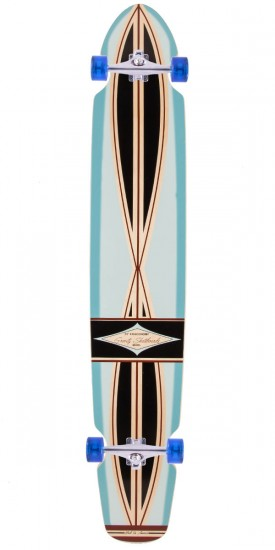 "Gravity Boards 55"" Ed Economy Longboard Complete - Light Blue - Blem"