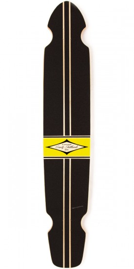 "Gravity Boards 55"" Ed Economy Longboard Deck - Yellow"