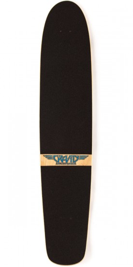 Gravity Spoon Nose Tahitian Treat Longboard Deck - Blem