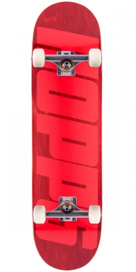 Hopps Big Hopps Skateboard Complete - Red - 8.125""