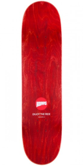 Hopps Big Hopps Skateboard Deck - Red - 8.125""