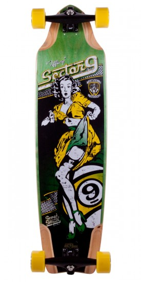 Sector 9 Scoot Smith Tiffany Longboard Skateboard Complete