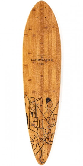 Landyachtz Bamboo Chief Camping Longboard Complete