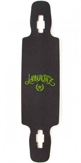 "Landyachtz Drop Carve 40"" Nautical Longboard Complete"