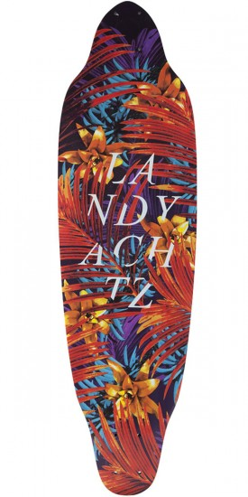 Landyachtz Mummy Jungle Fern Longboard Deck