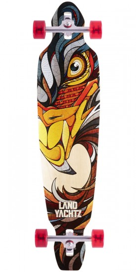 "Landyachtz Battle Axe 40"" Eagle Maple Longboard Complete"