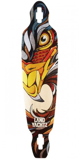 "Landyachtz Battle Axe 40"" Eagle Maple Longboard Deck"