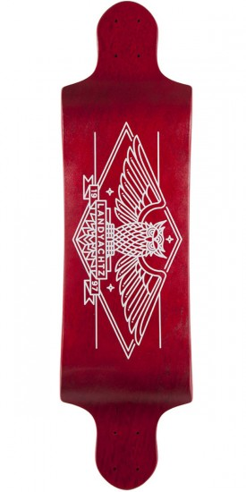 Landyachtz Switch 35 Owl Longboard Deck