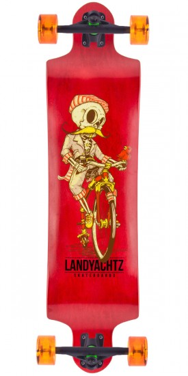 Landyachtz Switch 40 Longboard Complete - Skeleton - 2015