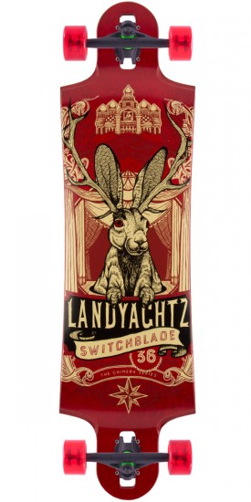 Landyachtz Switchblade 36 Maple Longboard Complete