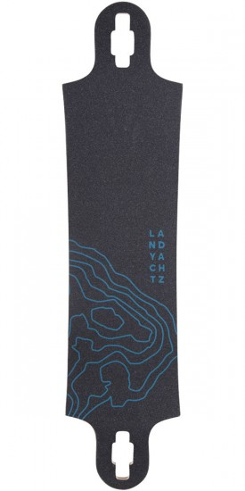 Landyachtz Switchblade 40 Mountain Longboard Deck - Blue