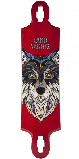 Landyachtz Ten Two Four Wolf Longboard Deck
