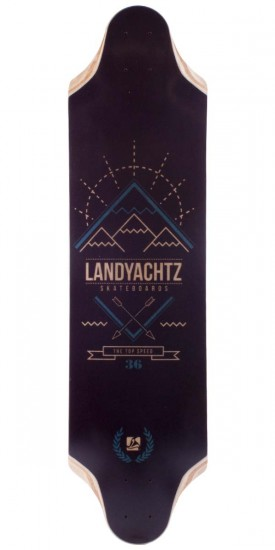 Landyachtz Top Speed 36 Longboard Skateboard Deck - 2014