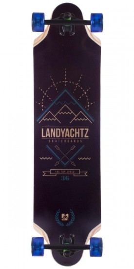 Landyachtz Top Speed 36 Longboard Skateboard Complete - 2014