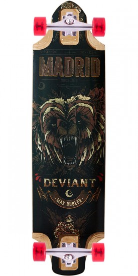 Madrid Deviant Longboard Complete - 2017