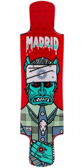 Madrid Goat Sucker Longboard Deck