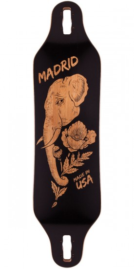 Madrid Missionary Elephant Longboard Deck - Drop Thru - 2015