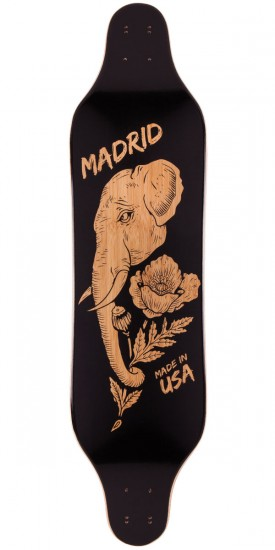 Madrid Missionary Elephant Longboard Deck - Top Mount - 2015