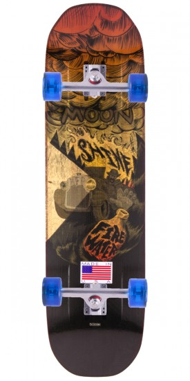 Moonshine Firewater Longboard Complete