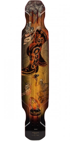 Moonshine Hoedown Longboard Deck - Medium Flex