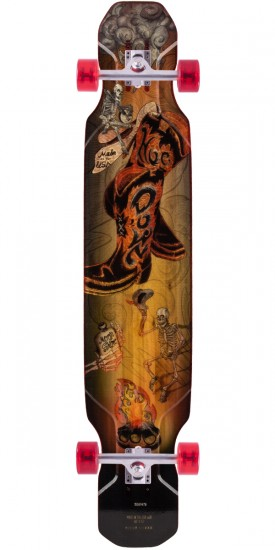 Moonshine Hoedown Longboard Complete - Medium Flex