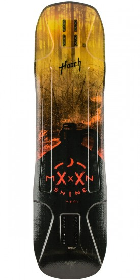 Moonshine Hooch Longboard Deck - Burnout