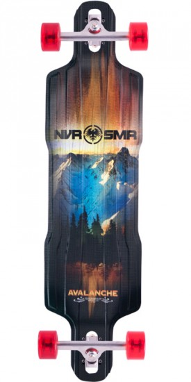 Never Summer Avalanche Drop Thru Longboard Complete - 2015