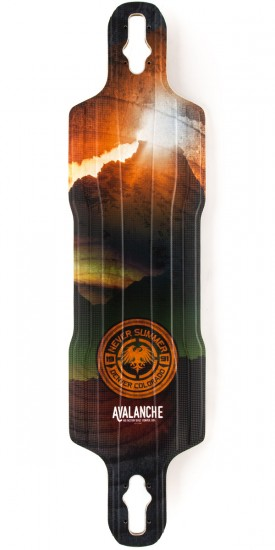 Never Summer Avalanche DT Longboard Deck