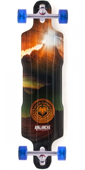 Never Summer Avalanche DT Longboard Complete