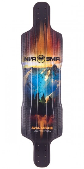 Never Summer Avalanche Top Mount Longboard Deck - 2015