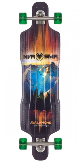 Never Summer Avalanche Top Mount Longboard Complete - 2015