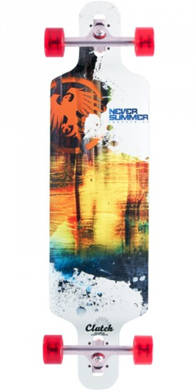 Never Summer Clutch Longboard Complete - 2015