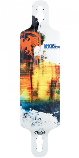 Never Summer Clutch Longboard Deck - 2015