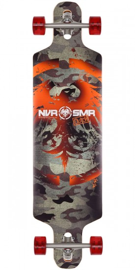 Never Summer Clutch Longboard Skateboard Complete - 2014 V2